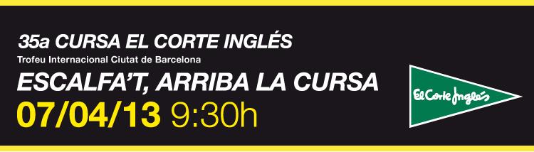 CURSA EL CORTE INGLÉS QUE SE CUECE EN BCN BARCELONA 1