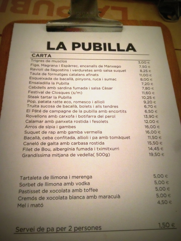 LA PUBILLA RESTAURANTE QUE SE CUECE EN BCN MARTA CASALS BARCELONA (8)